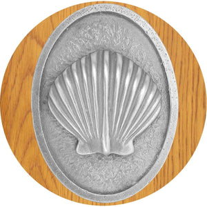 scallop shell cabinet knobs
