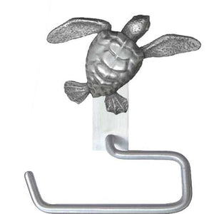 Sea Turtle Hand Towel Hanger, 285, - Sea Life Cabinet Knobs