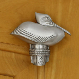 Pelican Cabinet Knob, 100R, Right Facing - Sea Life Cabinet Knobs