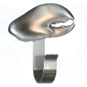Lobster Claw Robe Hook, 321 - Sea Life Cabinet Knobs