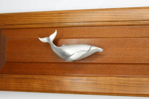 Humpback Whale Drawer Handle, 274R, Large size, Right facing - Sea Life Cabinet Knobs