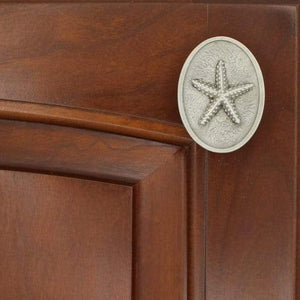 Starfish Cabinet Knob, 127V, Small Size, - Sea Life Cabinet Knobs