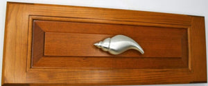Tulip Conch Cabinet Pull, 160L, Large size, Left Opening - Sea Life Cabinet Knobs