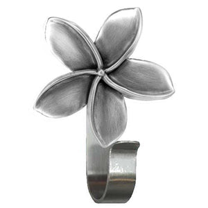 Plumeria Towel Hook, 307 - Sea Life Cabinet Knobs