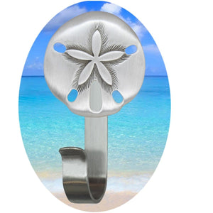 Sand Dollar Robe Hook