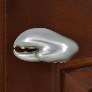 Lobster Claw Cabinet Knobs, 269L, Small size, Left Facing - Sea Life Cabinet Knobs