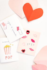XOXO Galentines Card