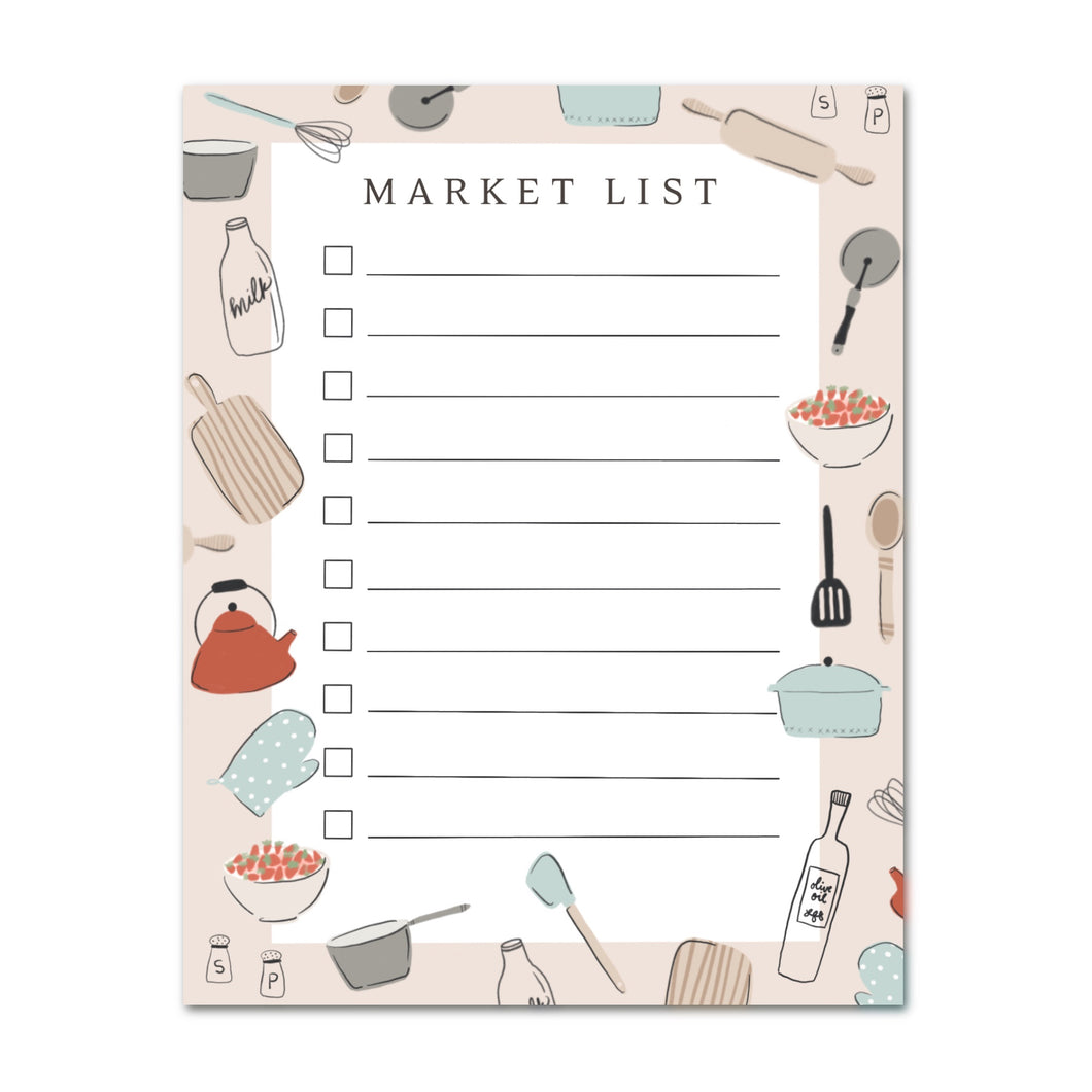 Market List Notepad