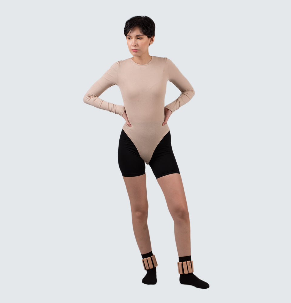 Mantou Long Sleeve Body Suit