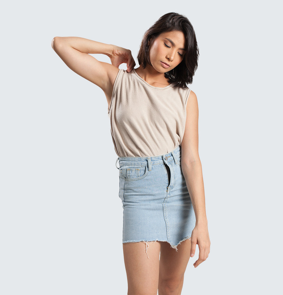 Cotton Sleeveless - Mantou Clothing