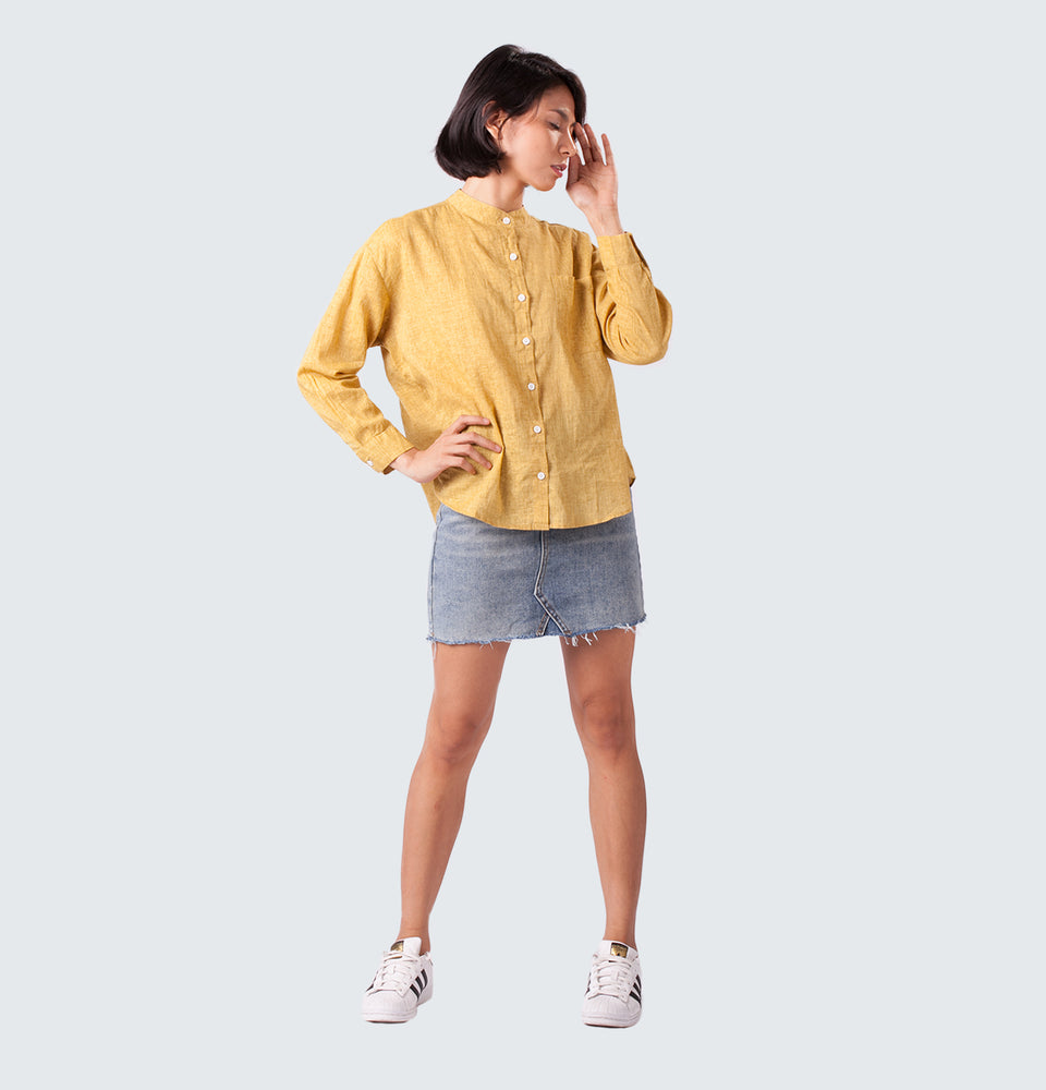 Buttoned Down Long Sleeve - Mantou Clothing
