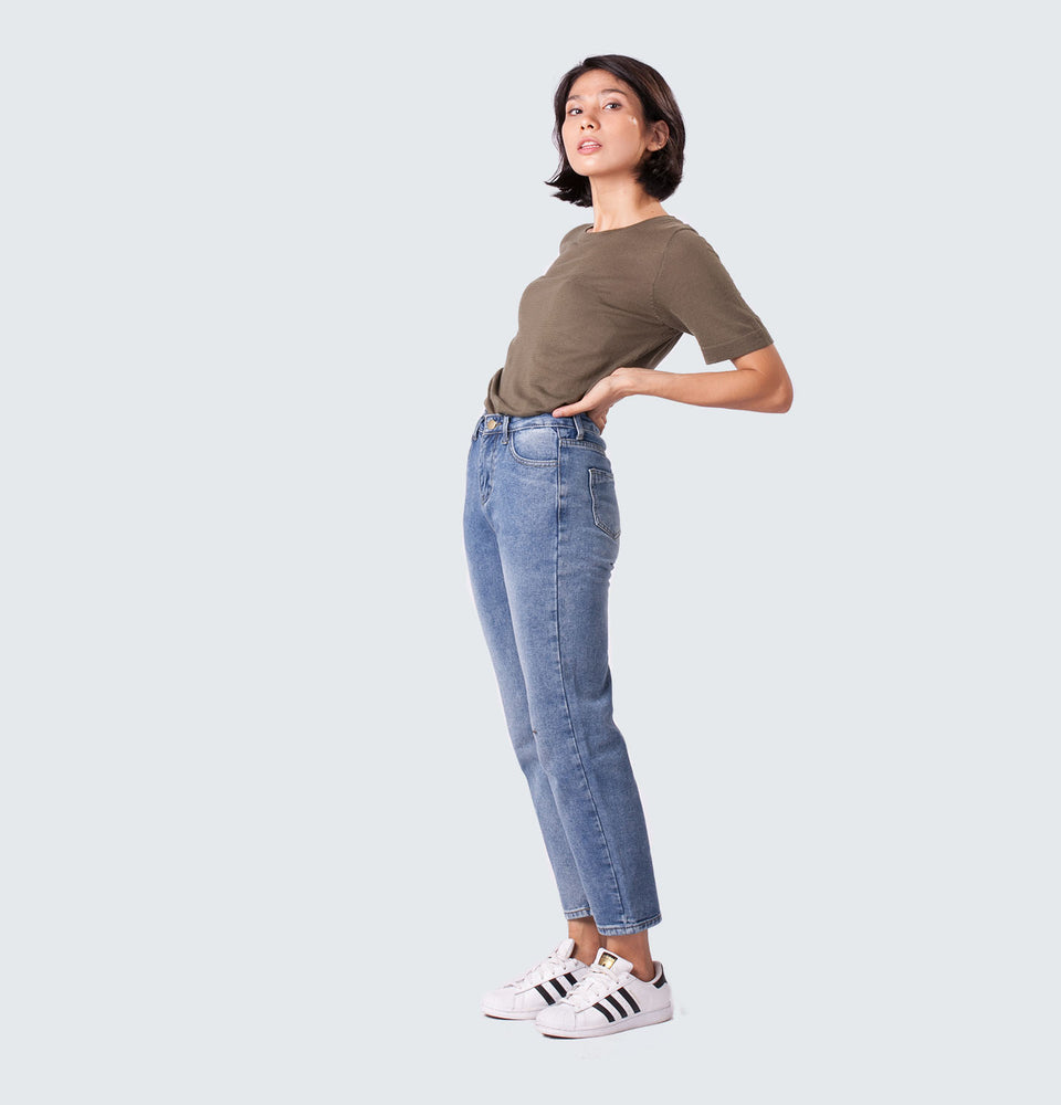 Dirty Wash Relaxed Jeans - Mantou Clothing