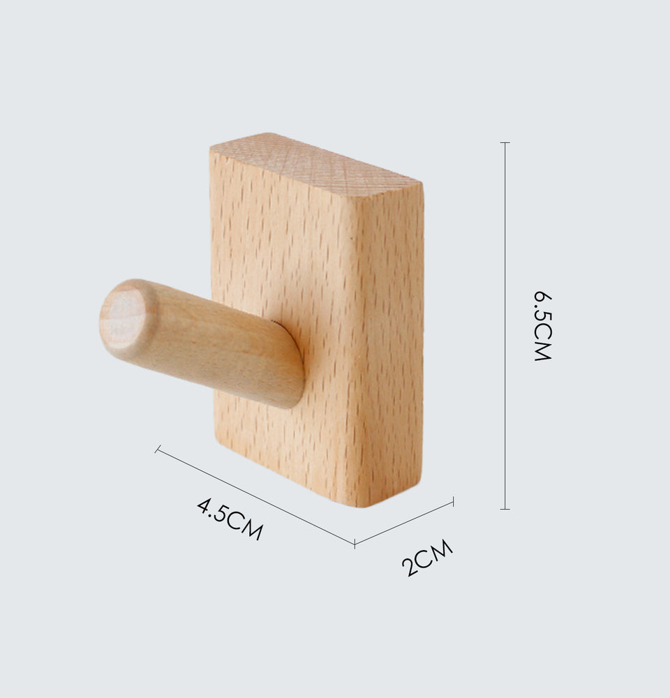 Wooden Wall Hook