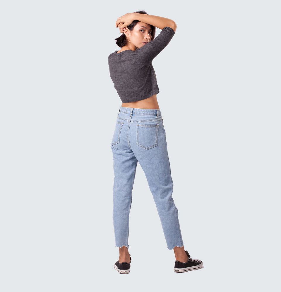 Raw Cut Jeans - Mantou Clothing