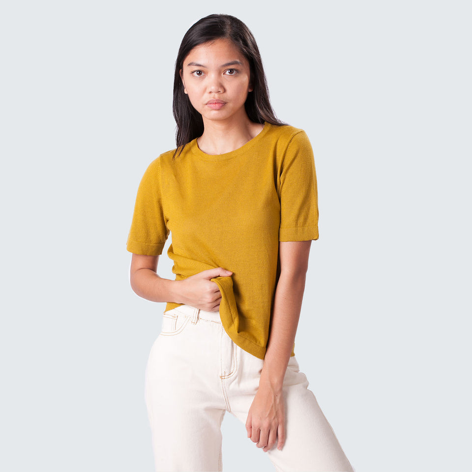 Knit T-Shirt - Mantou Clothing