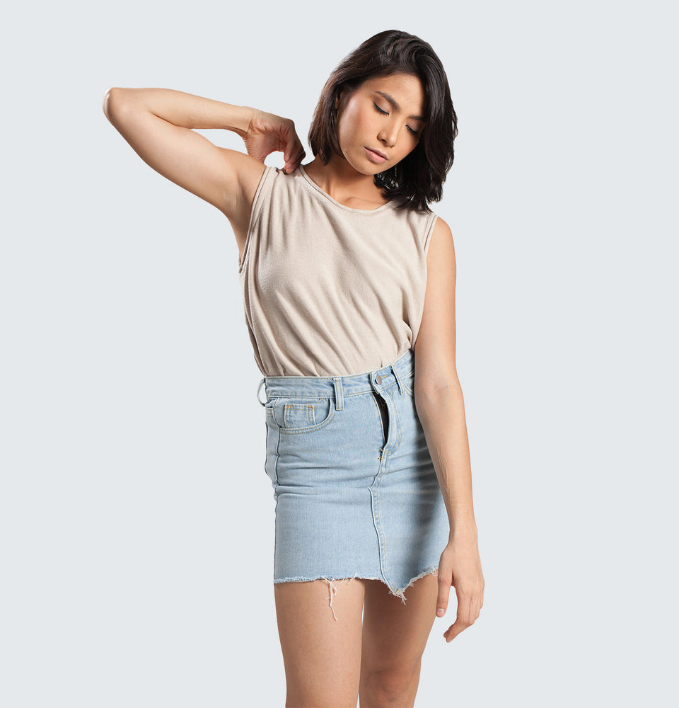 Assymetrical Skirt - Mantou Clothing