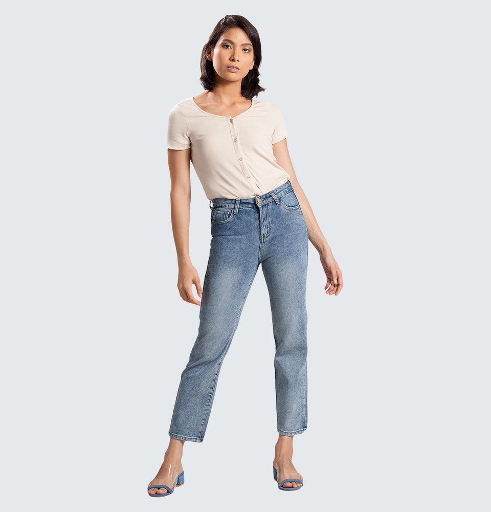 Tamara Ribbed Top - Mantou Clothing