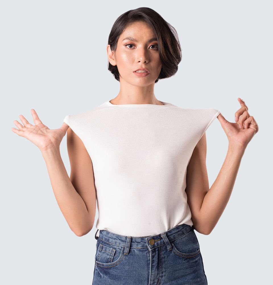 Anna Sleeveless Top - Mantou Clothing