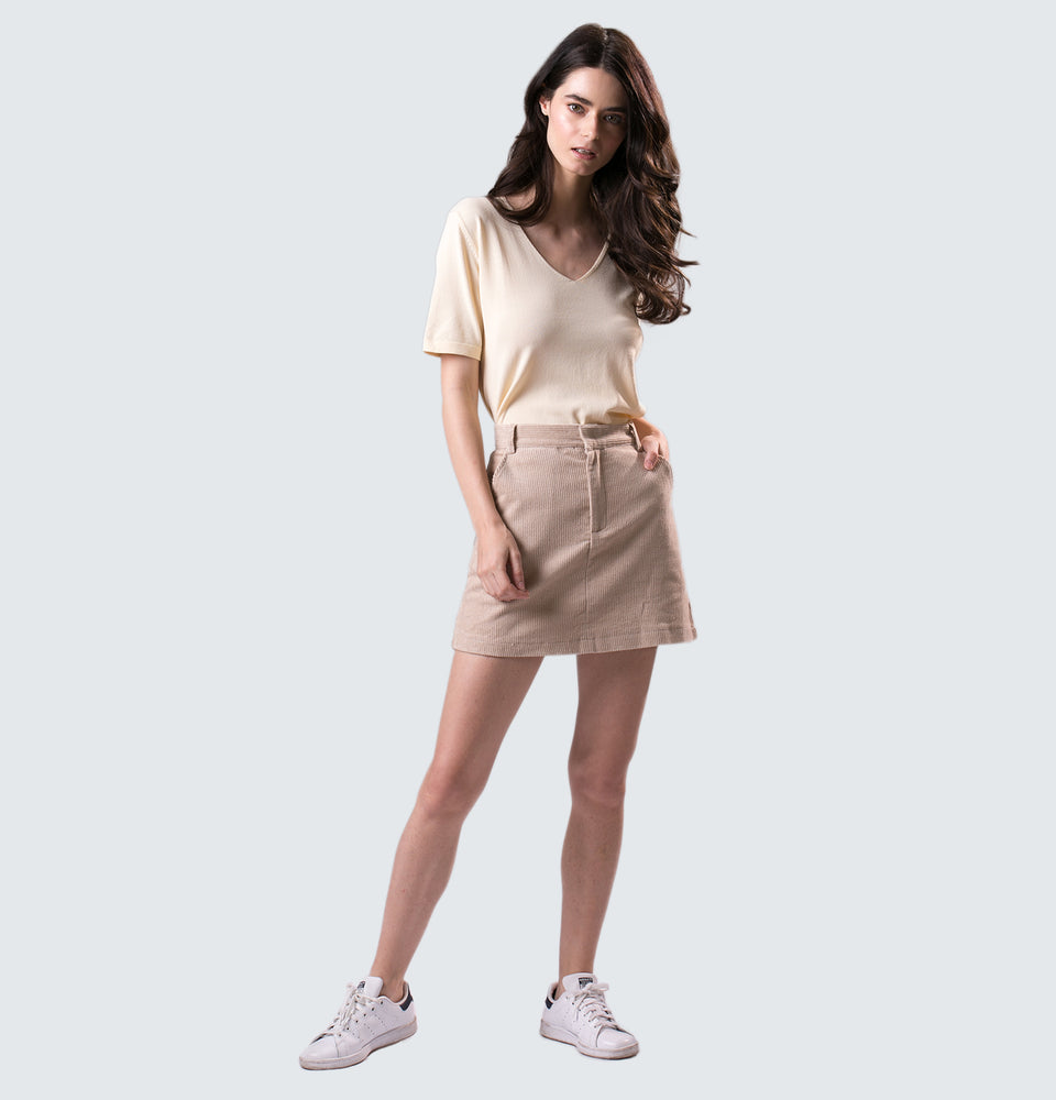 Corduroy Skirt - Mantou Clothing