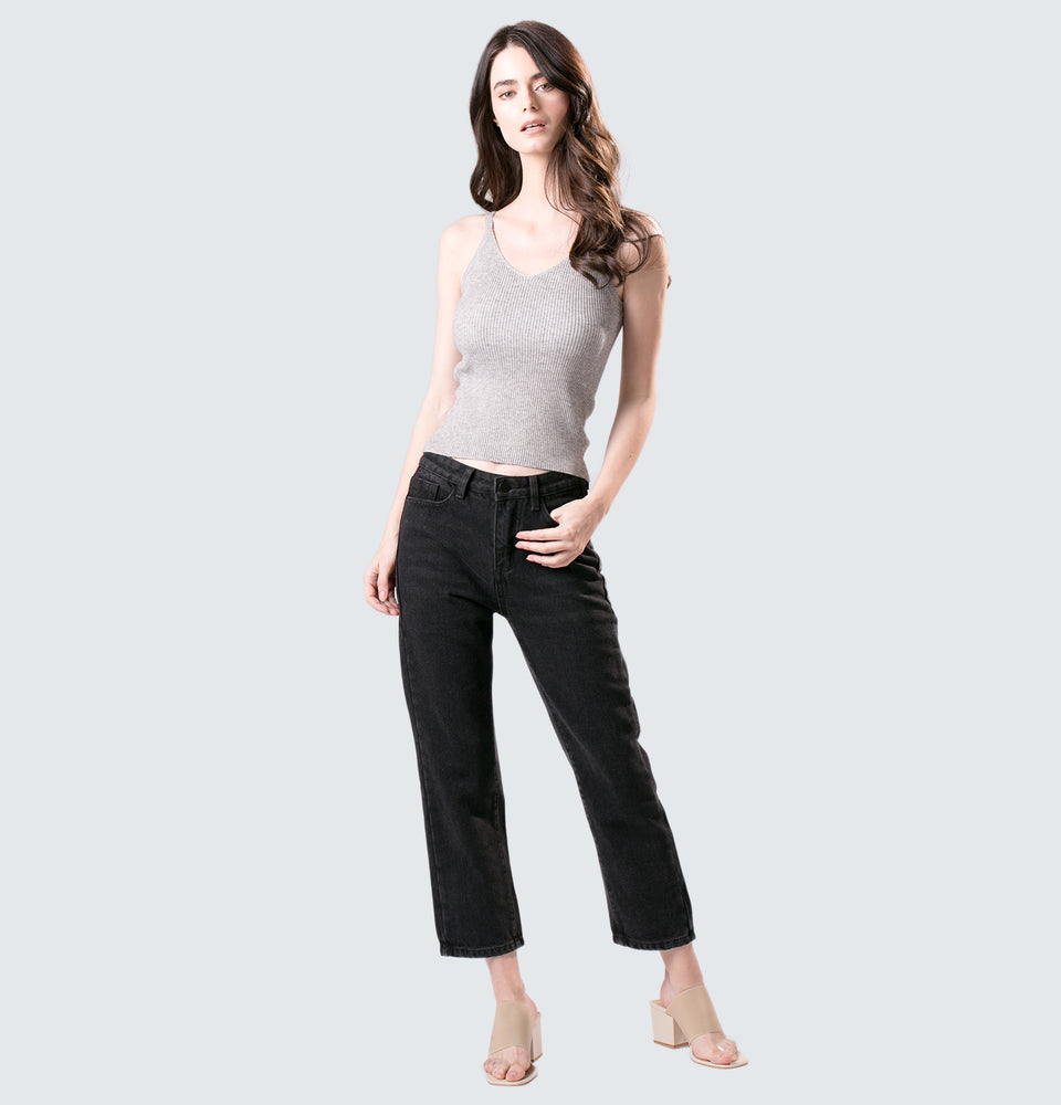 Chelsea High Rise Straight Leg jeans - Mantou Clothing