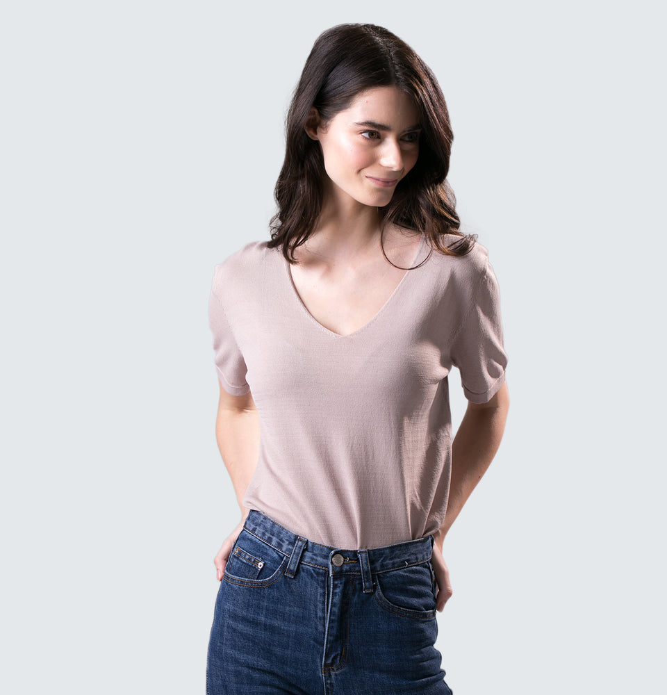 Daisy Knit Shirt - Mantou Clothing