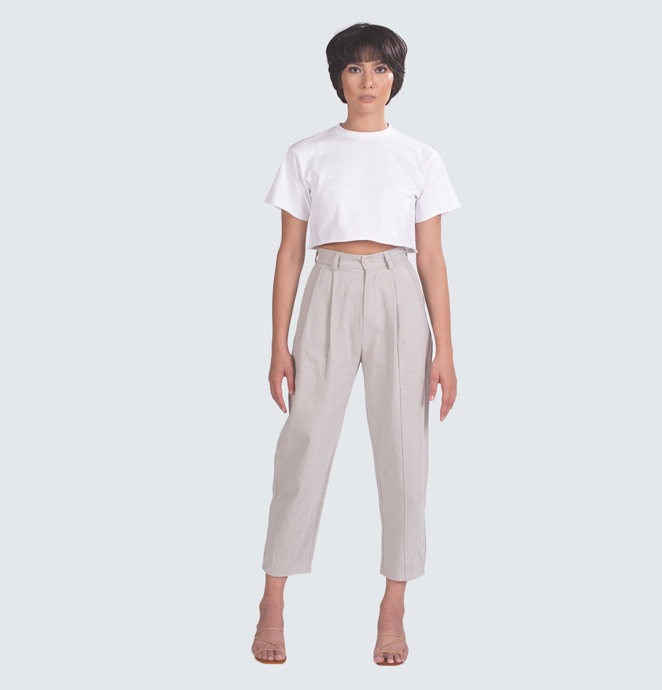 Pleated Highwaisted Trousers