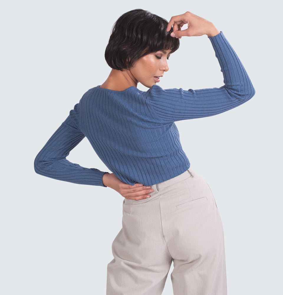 Catalina Crop Long Sleeve