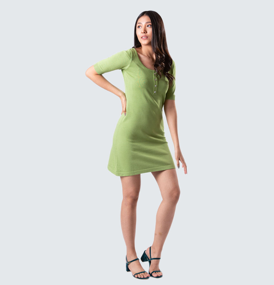 A-line Dress - Mantou Clothing