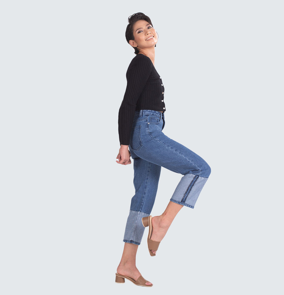 Lia Patch Jeans