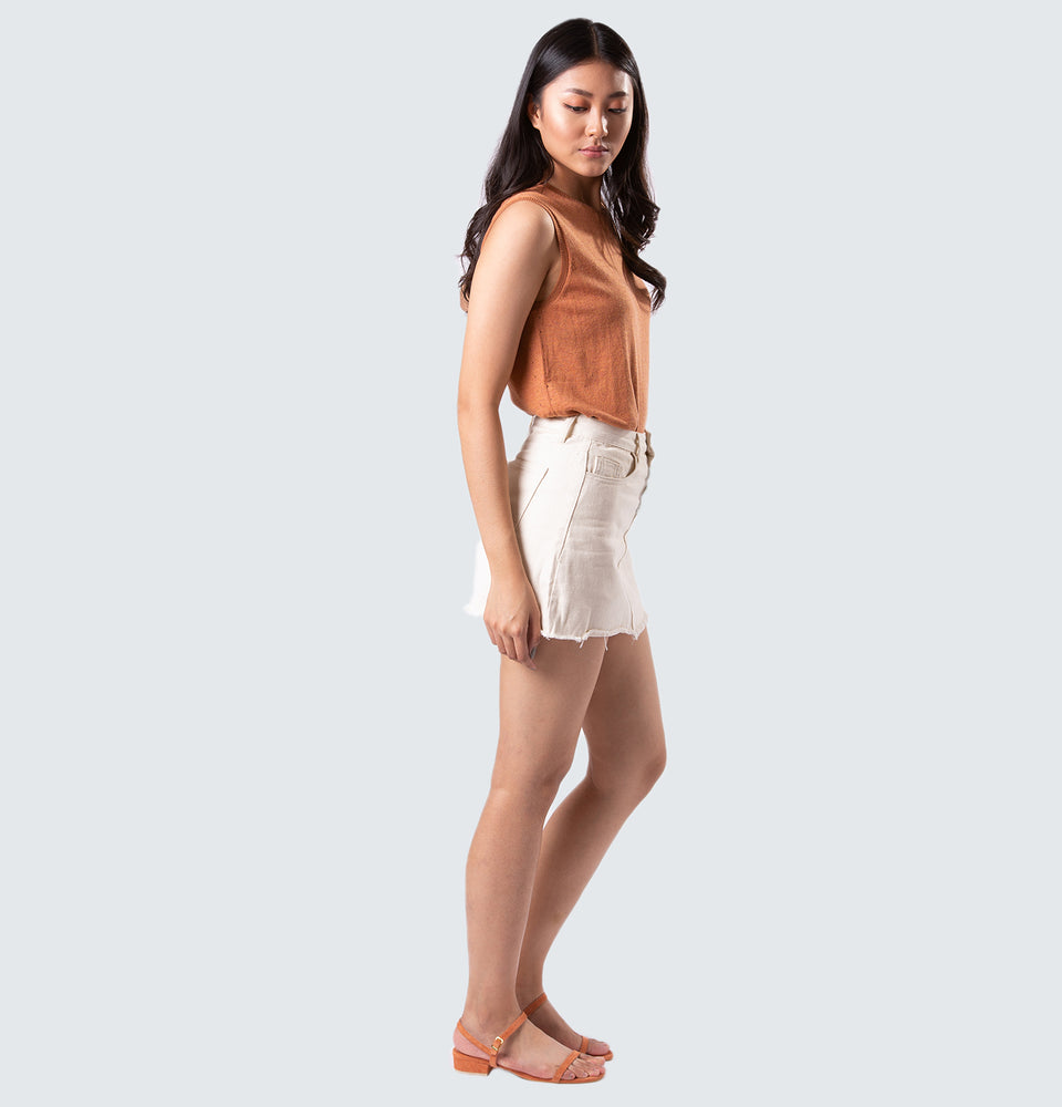 Olivia Sleeveless - Mantou Clothing