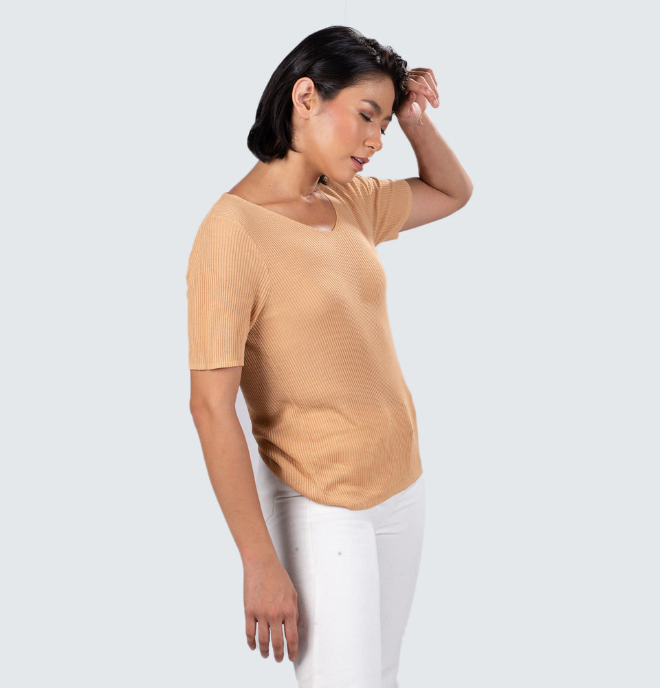 Ezra Ribbed Top