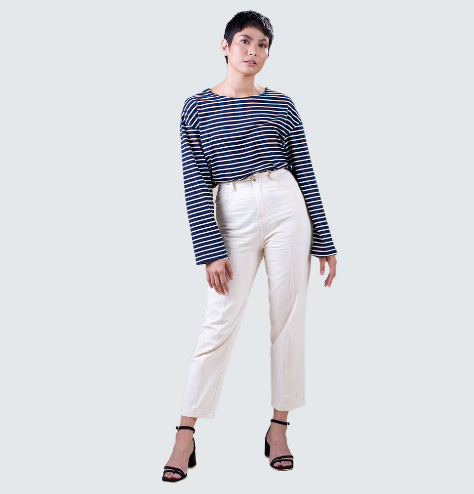 Delia Stripes Longsleeves - Mantou Clothing