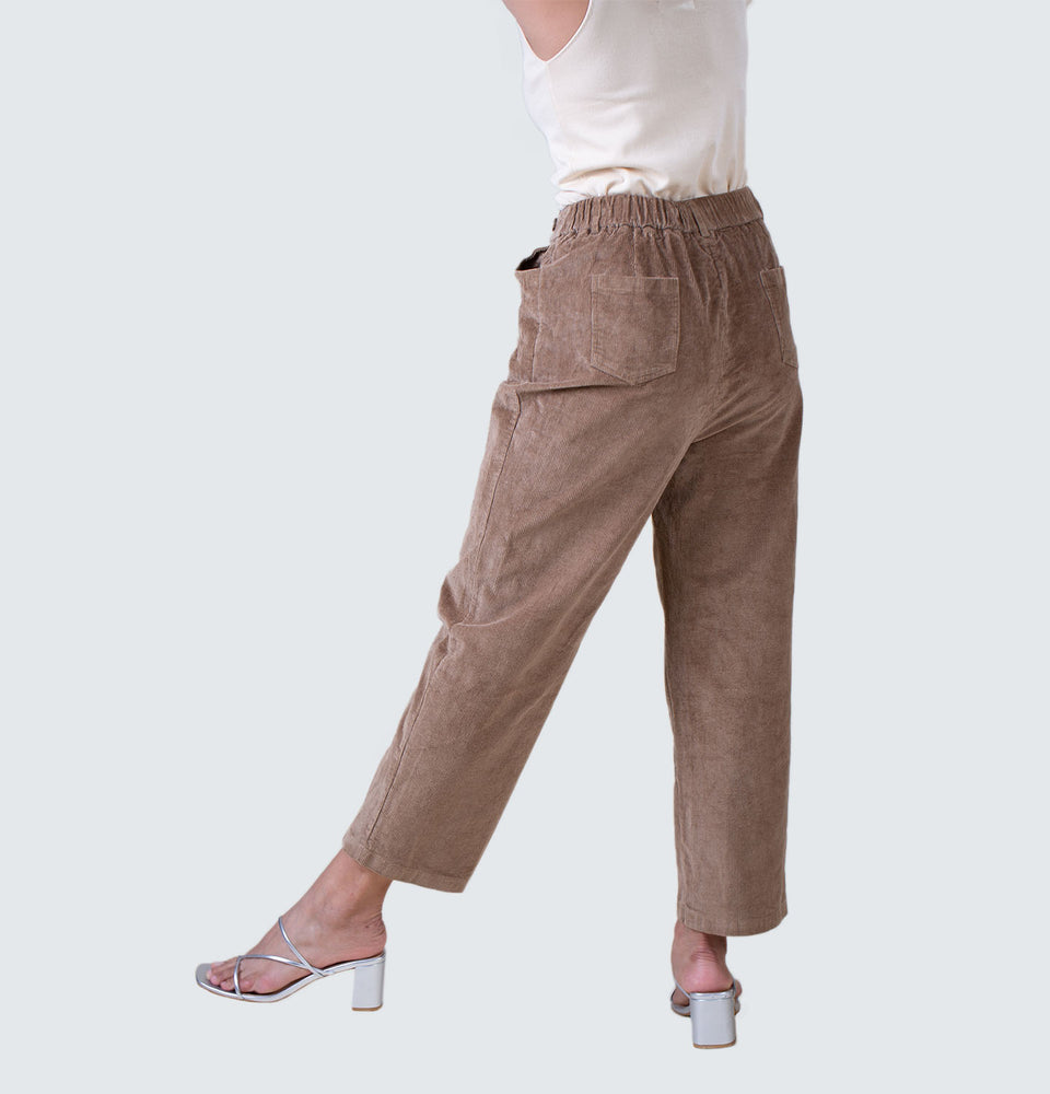 Wide Leg Corduroy Pants - Mantou Clothing