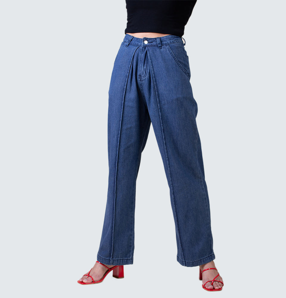 Cindy Wide Leg Jeans - Mantou Clothing