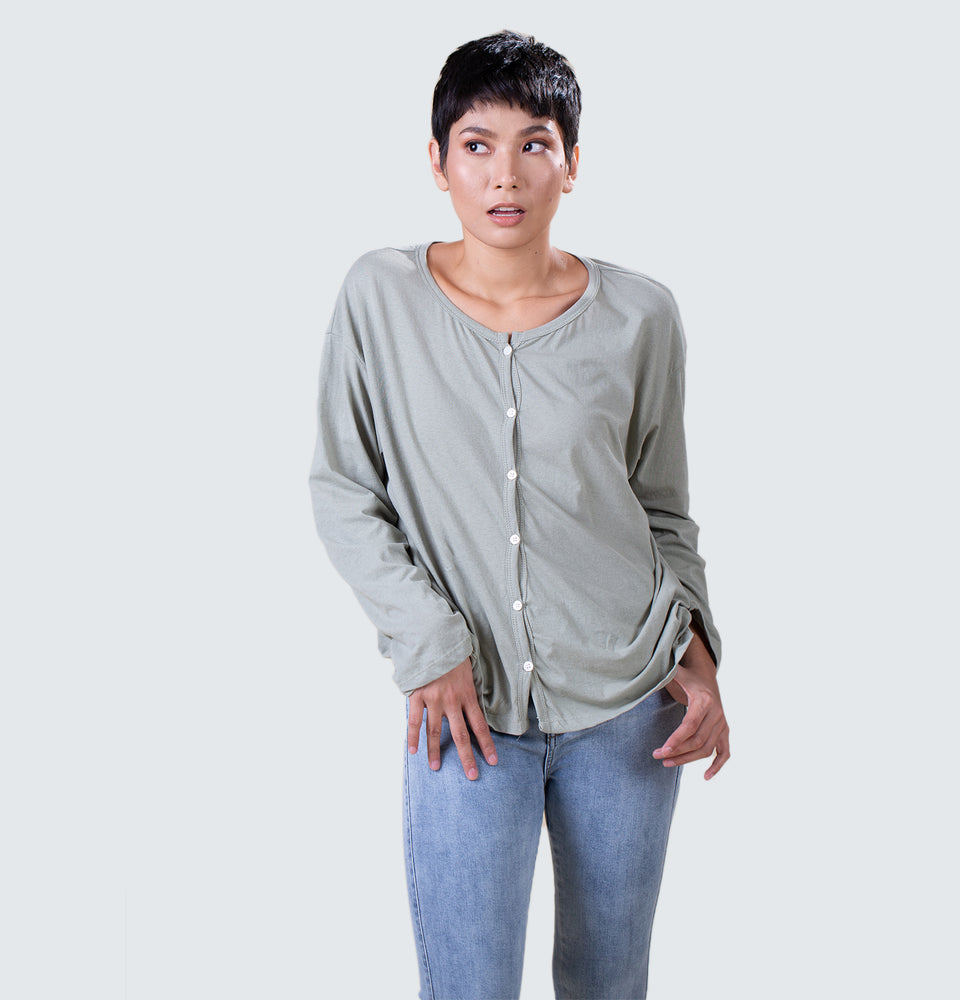Jane Button Down Long Sleeves