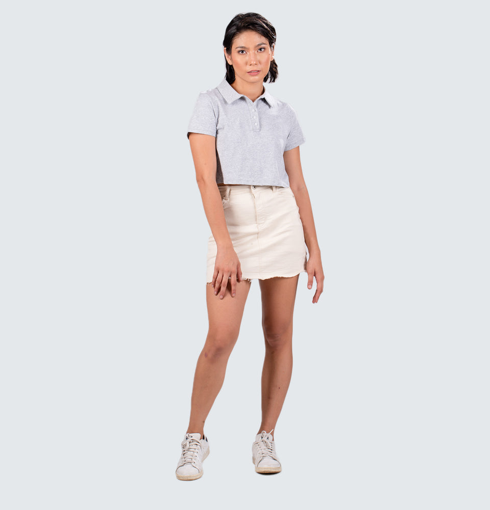 Jenna Polo Crop Top