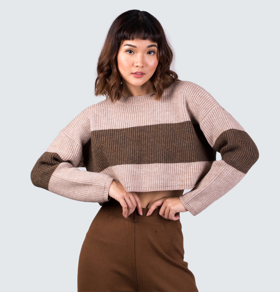 Knitted Crop Sweater
