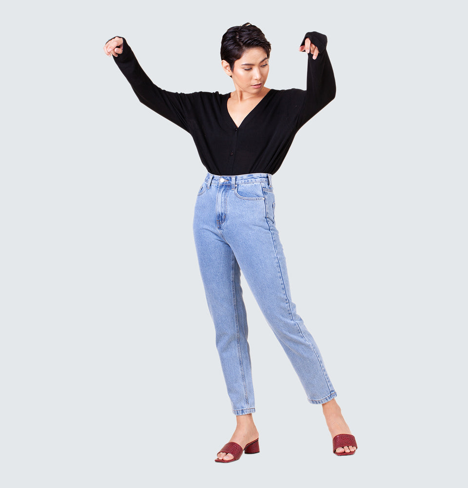 Jessie Mom Jeans - Mantou Clothing