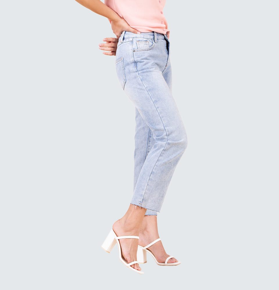 Minny Straight Leg Jeans - Mantou Clothing