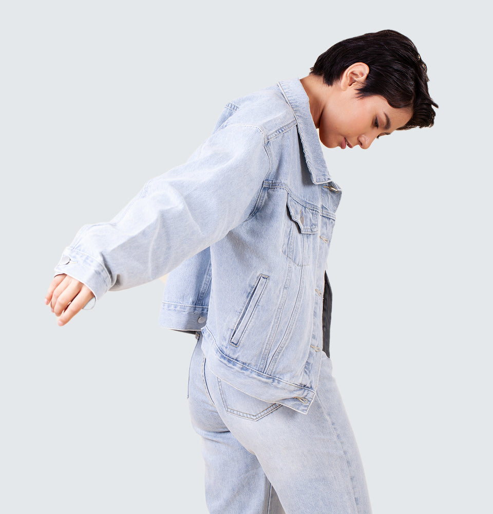 Loraine Denim Jacket - Mantou Clothing
