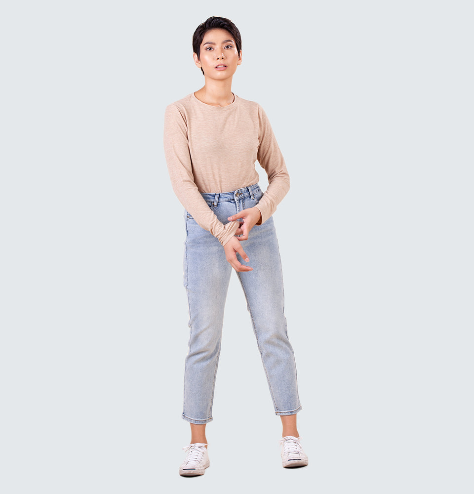 Amelia Relaxed Jeans - Mantou Clothing