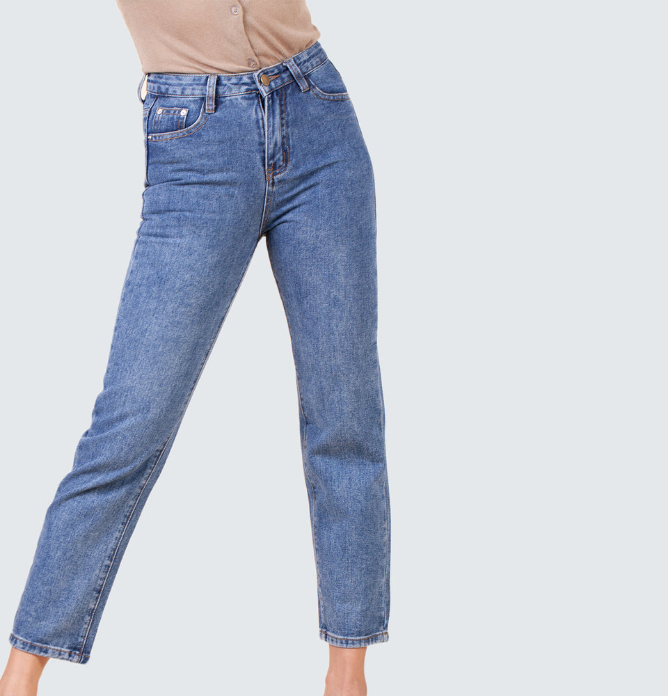 Jane High Rise Jeans - Mantou Clothing