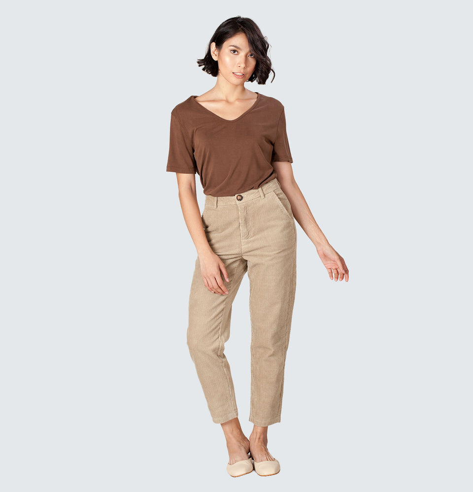 Corduroy Pants - Mantou Clothing