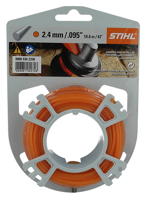 Stihl Orange Nylon Trimmer Line