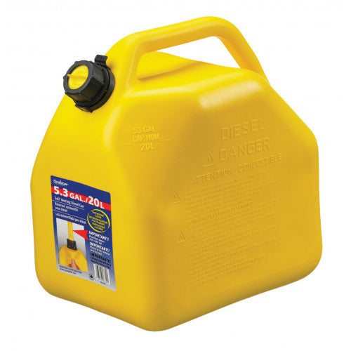 Plastic Diesel Scepter, Yellow  20L