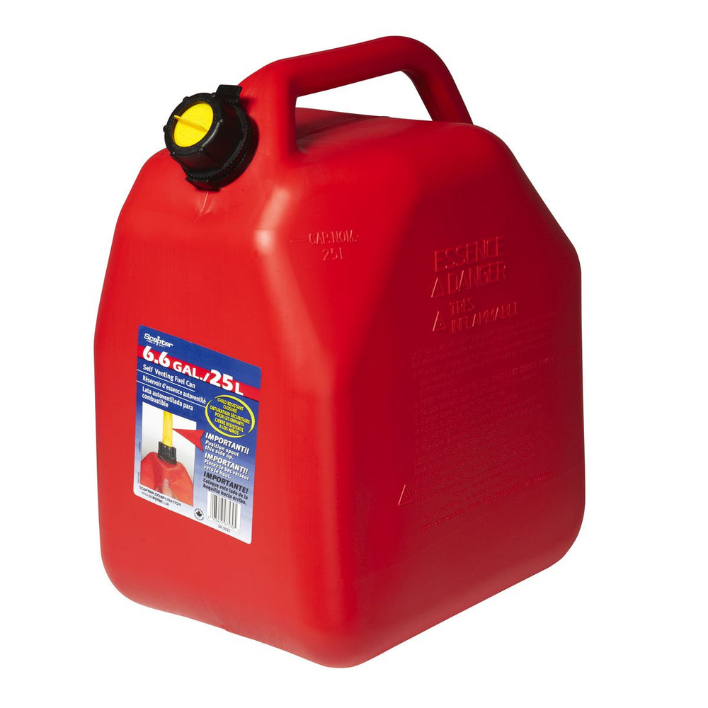 Plastic Fuel Scepter, Red - 25L