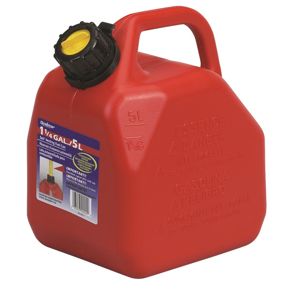 Plastic Fuel Scepter, Red - 5L