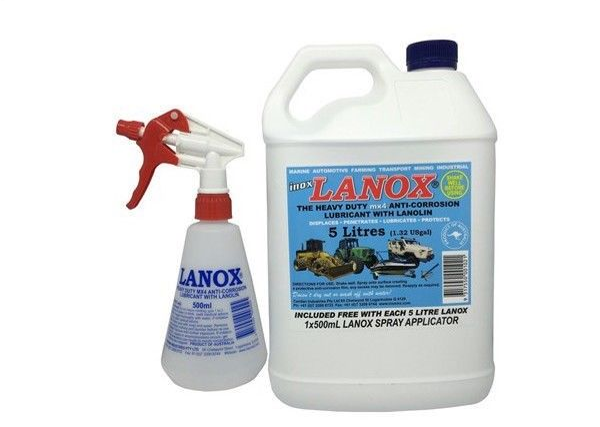 Lanox Lubricant 5L with spray