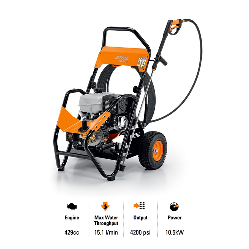 STIHL RB 800 High Pressure Cleaner