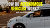 How Do Autonomous Vehicles Work?